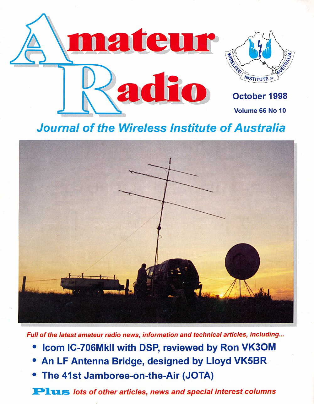amateur radio magazine