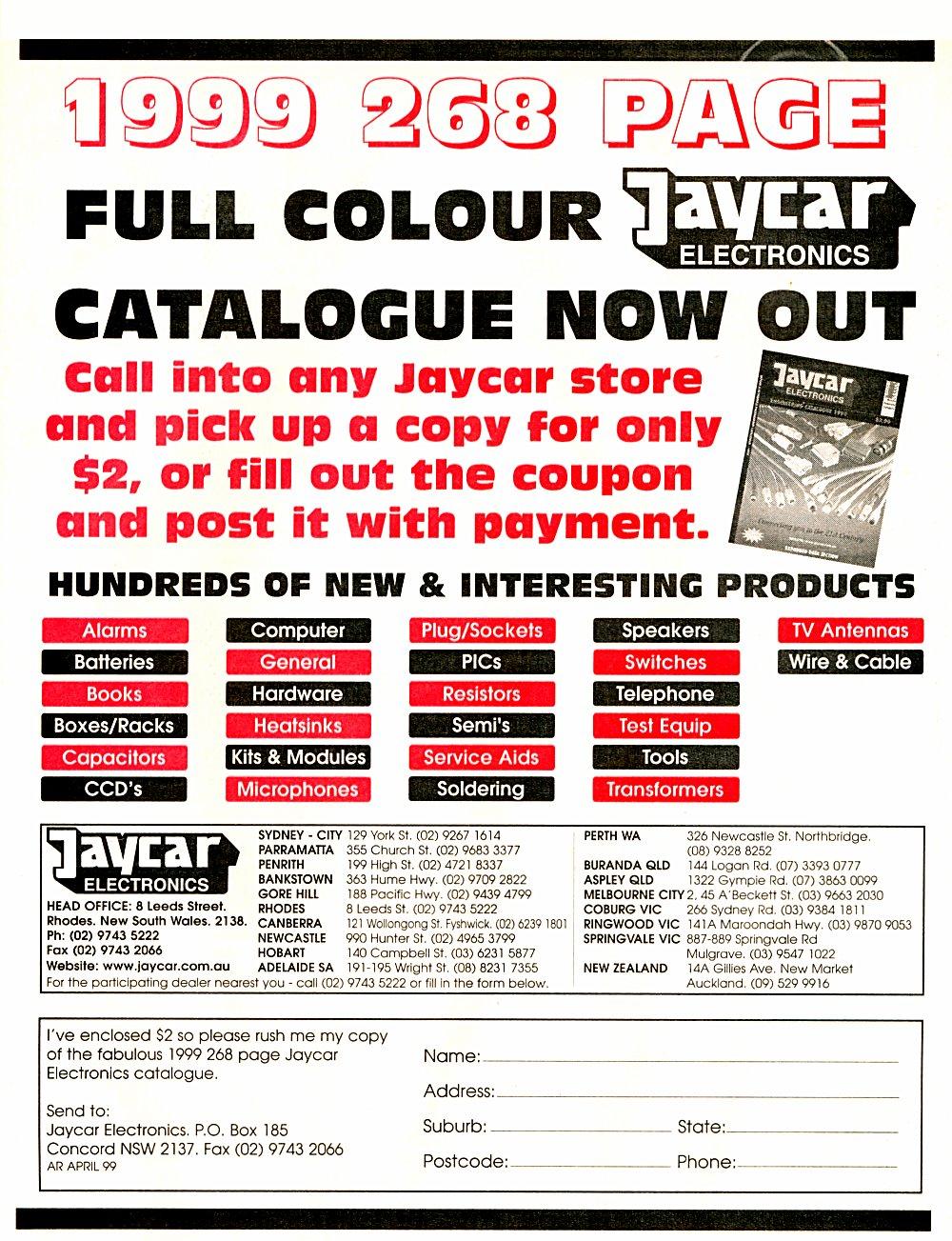 Amateur Radio Magazine Solid State Relay Jaycar May