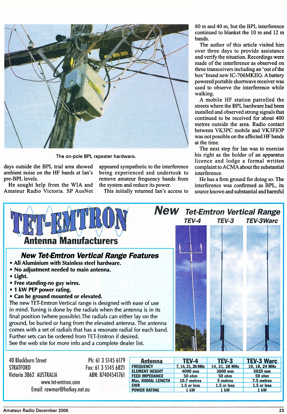 amateur radio magazine